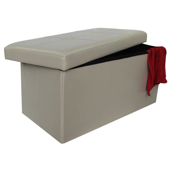 Shop Wee S Beyond Ivory Pu Leather 30 Inch Collapsible