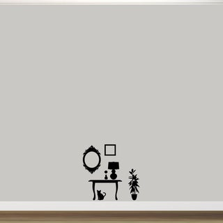 Small Funiture Silhouettes Wall Decal