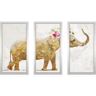 "BY Jodi ""All Things Good Too"" Framed Plexiglass Wall Art Set of 3"