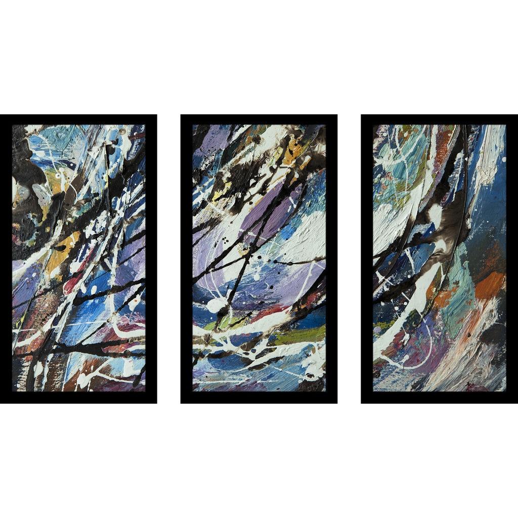 ArtWall Cody Yorks Blue Hen Falls 3 Artmetalz Aluminum Print Artwork 24 by 36-Inch