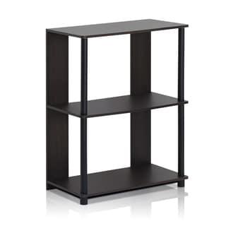 Furinno Jaya 15070WNBK Walnut Simple Design Bookcase