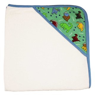 Funkoos Dinosaur Multicolor Organic Cotton Hooded Infant Towel