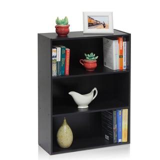 Furinno Pasir Espresso MDF Open Shelf