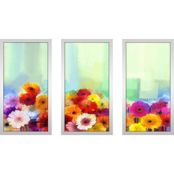"""The Nature Of Reality"" Framed Plexiglass Wall Art Set of 3"