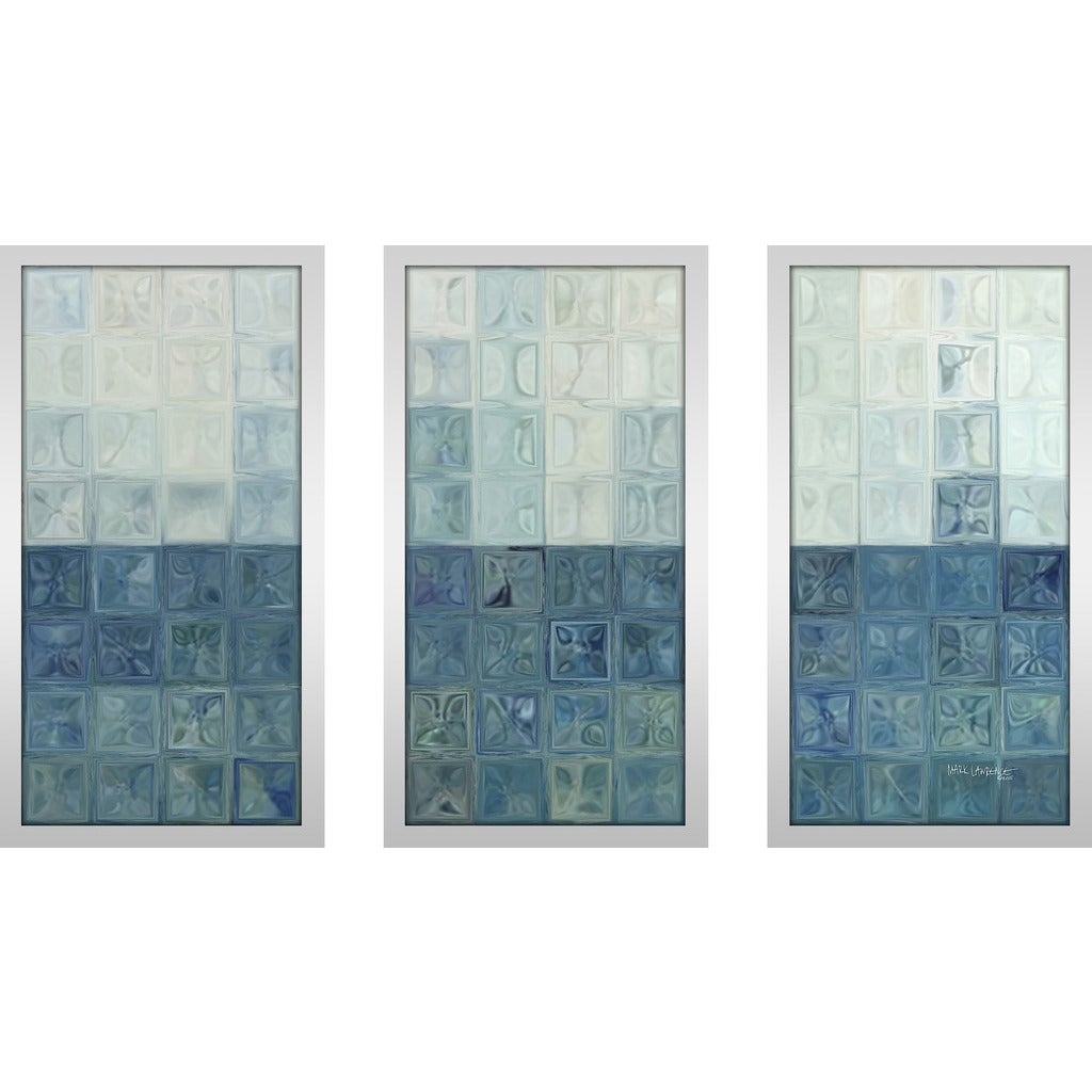 Mark Lawrence Tile Art 6 2015 Max Framed Plexiglass Wall Art Set Of 3 On Sale Overstock 12850898