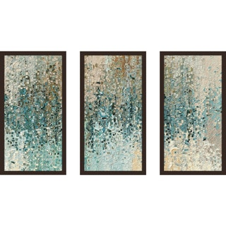 "Mark Lawrence ""Romans 8 39 Max"" Framed Plexiglass Wall Art Set of 3"