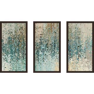 "Mark Lawrence ""Romans 8 39 Max"" Framed Plexiglass Wall Art Set of 3"