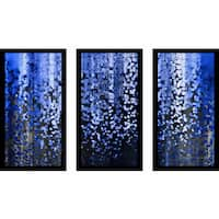 "Mark Lawrence ""Romans 3 24 Max"" Framed Plexiglass Wall Art Set of 3"