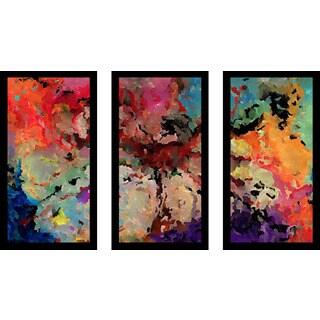 "Mark Lawrence ""Psalm 91 42461 Max"" Framed Plexiglass Wall Art Set of 3"