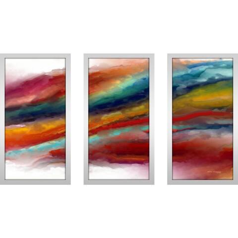 "Mark Lawrence ""Ml 1 Corinthians 13 4 Max"" Framed Plexiglass Wall Art Set of 3"