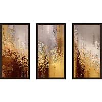 "Mark Lawrence ""Malachi 3 2 Max"" Framed Plexiglass Wall Art Set of 3"