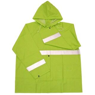 Boss Rainwear 3PR0350NJ Fluorescent Green Rain Jacket