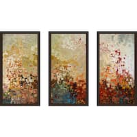"Mark Lawrence ""Joshua 1 9 Ik"" Framed Plexiglass Wall Art Set of 3"