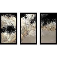 "Mark Lawrence ""John 5 24 Ik"" Framed Plexiglass Wall Art Set of 3"