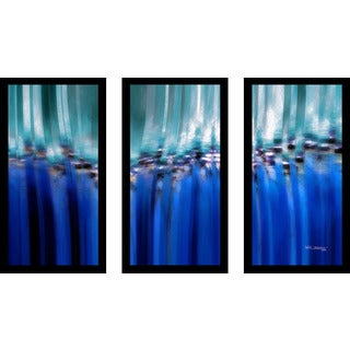 "Mark Lawrence ""Job 8 9 Max"" Framed Plexiglass Wall Art Set of 3"