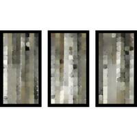 "Mark Lawrence ""Job 19 42652 Max"" Framed Plexiglass Wall Art Set of 3"