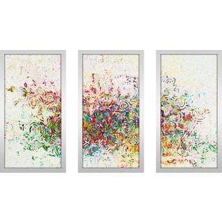 "Mark Lawrence ""Isaiah 55 7 Max"" Framed Plexiglass Wall Art Set of 3"