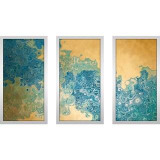 "Mark Lawrence ""Isaiah 45 3 Max"" Framed Plexiglass Wall Art Set of 3"