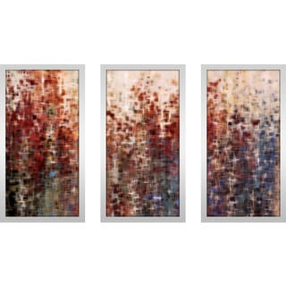 "Mark Lawrence ""Isaiah 45 21 Max"" Framed Plexiglass Wall Art Set of 3"
