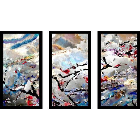 """Mark Lawrence """"Hebrews 11 8 Max"""" Framed Plexiglass Wall Art Set of 3"""