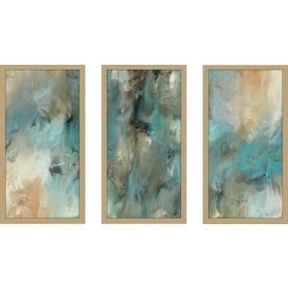 "Mark Lawrence ""Ephesians 6 18 Max"" Framed Plexiglass Wall Art Set of 3"