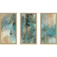 "Mark Lawrence ""Ephesians 6 18 Max"" Framed Plexiglass Wall Art Set of 3"