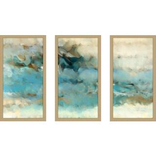 "Mark Lawrence ""Ecclesiastes 1 14 Max"" Framed Plexiglass Wall Art Set of 3"