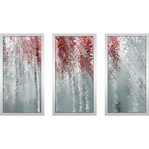 "Mark Lawrence ""Colossians 4 6 Max"" Framed Plexiglass Wall Art Set of 3"