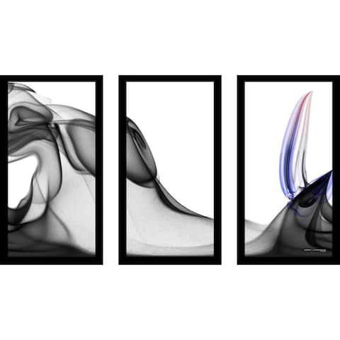 "Mark Lawrence ""1 Peter 43160 Max"" Framed Plexiglass Wall Art Set of 3"