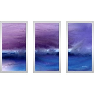 """Mark Lawrence """"A Change Is Gonna Come- I Max"""" Framed Plexiglass Wall Art Set of 3"""
