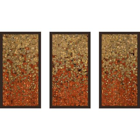 "Mark Lawrence ""1 Corinthians 10 13 Max"" Framed Plexiglass Wall Art Set of 3"