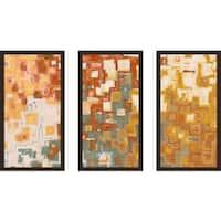 "Mark Lawrence ""1 Peter 2 3 Max"" Framed Plexiglass Wall Art Set of 3"