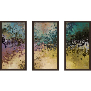"Mark Lawrence ""1 John 3 2 Ik"" Framed Plexiglass Wall Art Set of 3"
