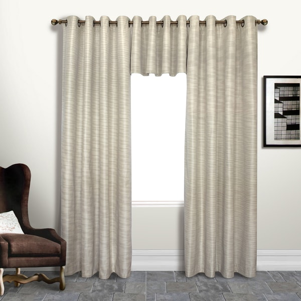 Luxury Collection Brighton Foamback Extra Long Blackout Curtain Panels