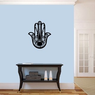 Hamsa Hand Vinyl 20-inch Wide x 24-inch Tall Wall Decal