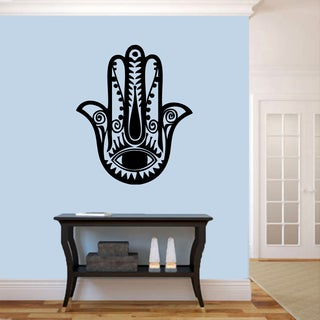 Hamsa Hand - Wall Decals 30 inches wide x 36 inches tall