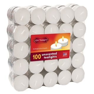 Unscented Tealights (100-Pack)