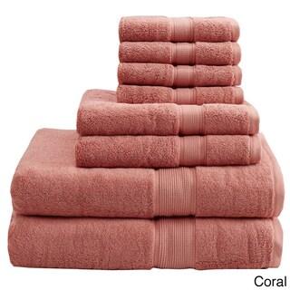 Madison Park Signature 800 GSM Cotton 8-piece Towel Set (More options available)
