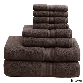 Madison Park Signature 800 GSM Cotton 8-piece Towel Set (More options available)