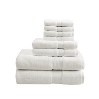 Madison Park Signature 800 GSM Cotton 8-piece Towel Set (Option: Cream)