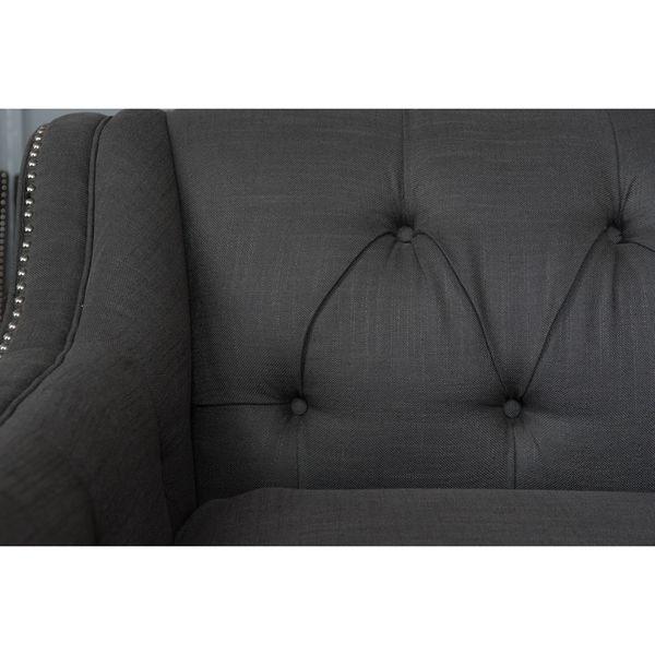 ... Sofa Company Santa Monica Source · Elements Fine Home Furnishings Santa  Monica Collection Grey Fabric