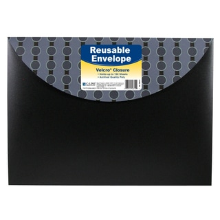 "C Line Products Inc 56612 11"" X 8-1/2"" Reusable Envelope With Velcro® Closure"