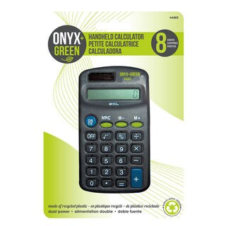 Onyx And Blue Corporation 4403 8-Digit Handheld Caluculator