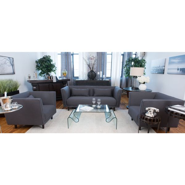 Shop Manhattan Fabric 3 Piece Set Including Sofa And 2 Standard