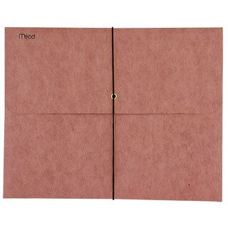 MeadWestvaco 35250 Red Expandable Letter Wallet