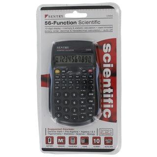 Sentry CAL-CA656 Black 56 Function Scientific Calculator