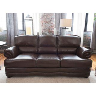 Charleston Top Grain Leather Sofa