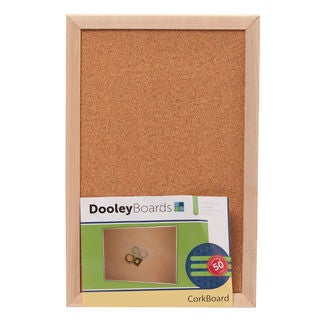Dooley Boards 1218 CO 11 x 17 Wood Framed Cork Board
