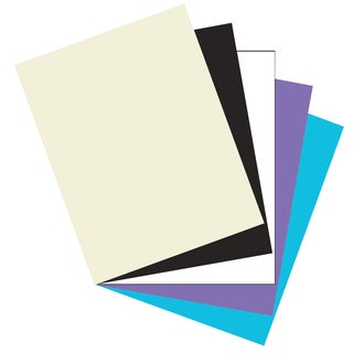 "Pacon 101189 8-1/2"" X 11"" Heavyweight Card Stock Classic Assorted Colors"