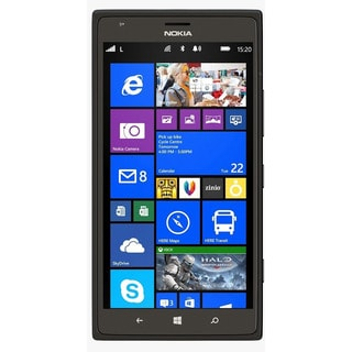 Nokia Lumia 1520 RM-940 16GB AT&T Unlocked 4G LTE Quad-Core Windows Phone w/ 20MP Camera - Black